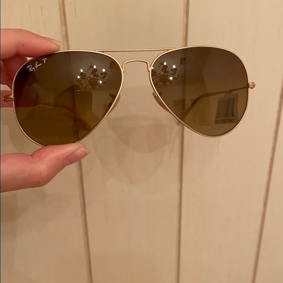 Brand new ray ban sunglasses (polarized)